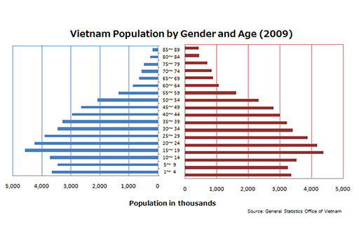 General Statistics Office of Vietnam homepage